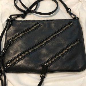 Rebecca Minkoff Fringe Zipper Crossbody Bag RARE